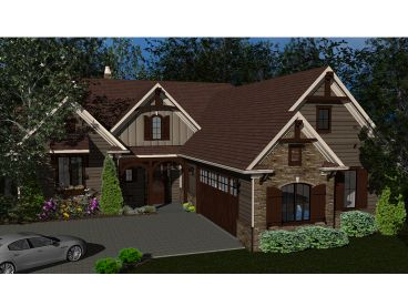 Craftsman House Plan, 049H-0011