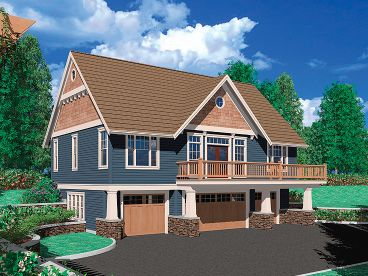 Carriage House Plan, 034G-0011