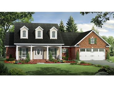 Southern Country Home, 001H-0130