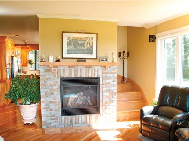 Fireplace Photo, 027H-0070