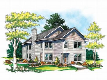 Multi-Family Home Plan, 020M-0033