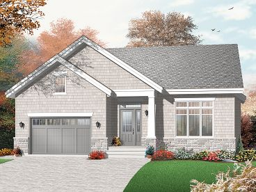 Retirement House Plan, 027H-0256