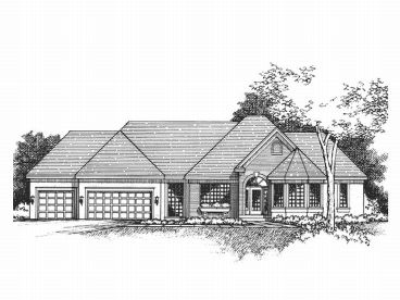 1-Story House Plan, 023H-0056