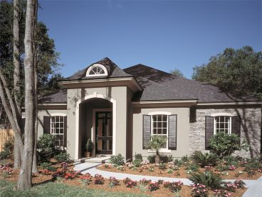 European House Plan, 043H-0141