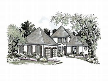 Sunbelt House Plan, 021H-0141