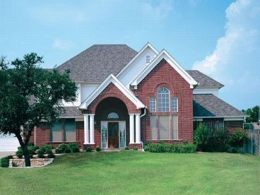 Traditional House Plan, 036H-0034
