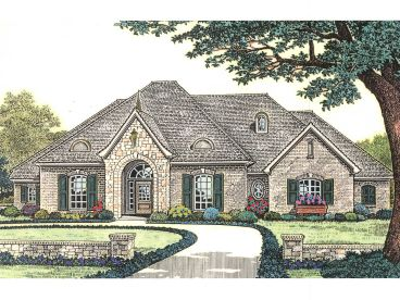 European Home Plan, 002H-0084
