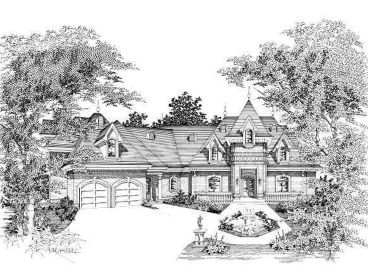 Unique House Plan, 061H-0147