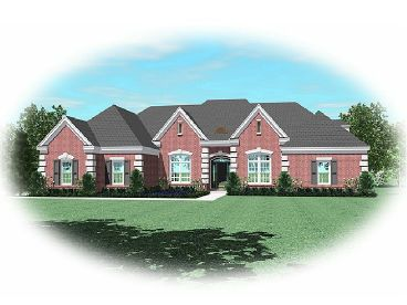 Traditional House Plan, 006H-0133