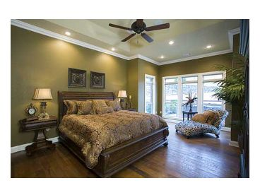Master Bedroom Photo, 025H-0071