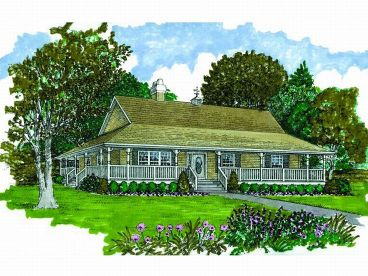 Affordable Home Plan, 032H-0085