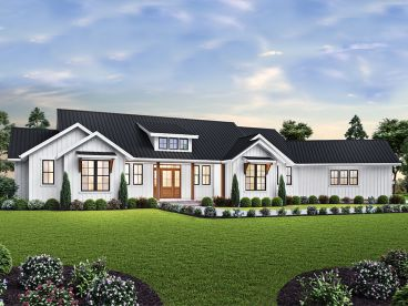 Ranch House Plan, 034H-0327