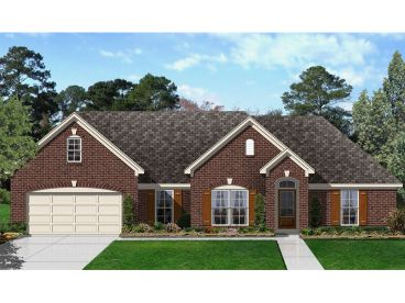Traditional Home Plan, 061H-0170