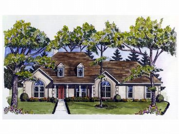 1-Story Home Plan, 019H-0022