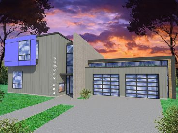 Contemporary Home, 056H-0004