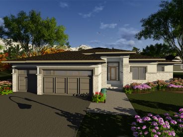 Contemporary House Plan, 020H-0409