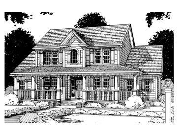 Country House Plan, 059H-0039
