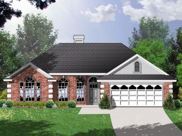 Small House Plan, 015H-0020