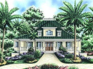 Cracker House Plan, 037H-0125