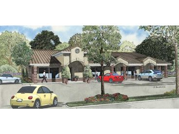 Strip Mall Plan, 025C-0003