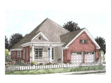 One-Story Home Design, 059H-0073