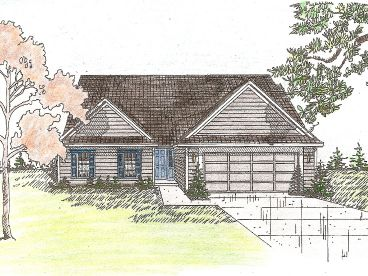 Small House Plan, 009H-0004