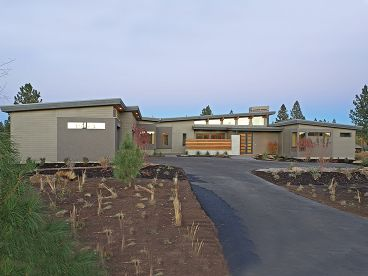 Modern Ranch House Plan, 081H-0019