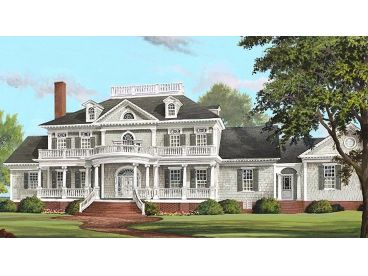 Estate House Plan, 063H-0195