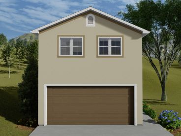 Garage Apartment Plan, 065G-0009