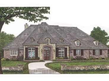 One-Story House Plan, 002H-0026