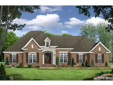 Family House Plan, 001H-0185