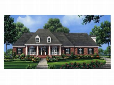 1-Story Home Plan, 001H-0114
