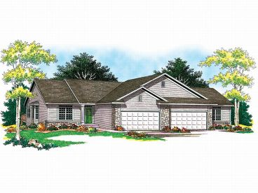 Multi-Family House Plan, 020M-0025