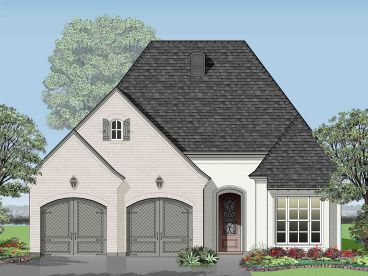 Small House Plan, 079H-0020