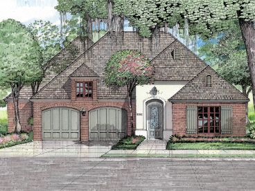 Ranch House Plan, 079H-0008