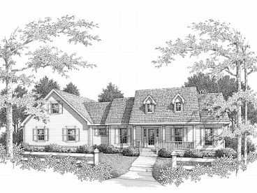 Country Home Design, 004H-0051