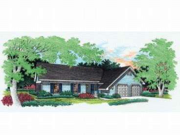 1-Story House Plan, 021H-0009