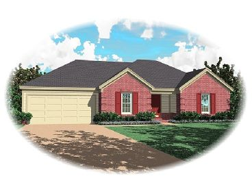 One-Story House Plan, 006H-0066