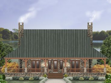 Country House Plan, 006H-0167