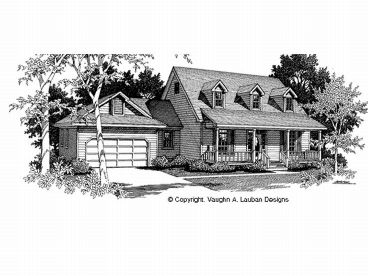 Two-Story House Plan, 004H-0068