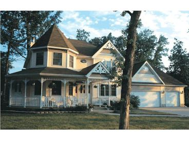 Victorian Home Plan Photo, 031H-0061