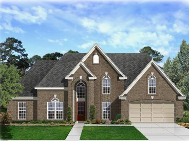 Traditional House Plan, 061H-0183