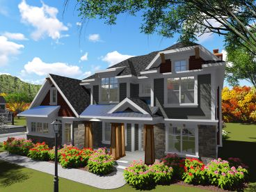 Luxury House Plan, 020H-0399