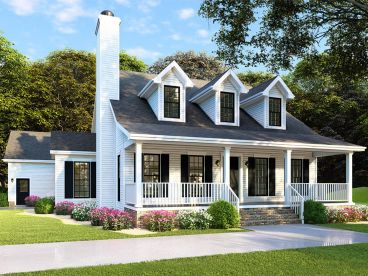 Country House Plan, 074H-0075