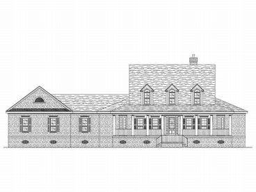 Country House Plan, 017H-0023
