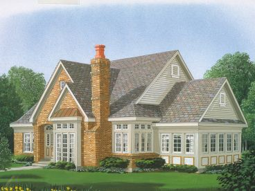 Traditional House Plan, 054H-0077