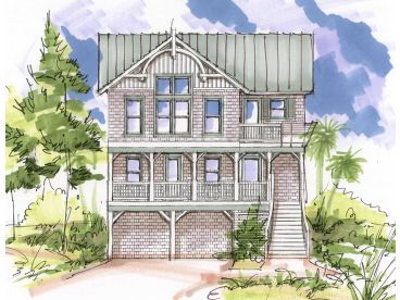 Narrow Lot Beach House, 041H-0099