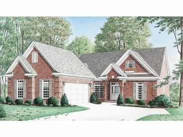 Traditional House Plan, 011H-0016