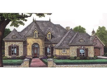 European Home Plan, 002H-0043