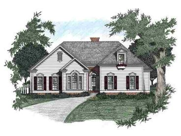 Ranch House Plan, 045H-0010